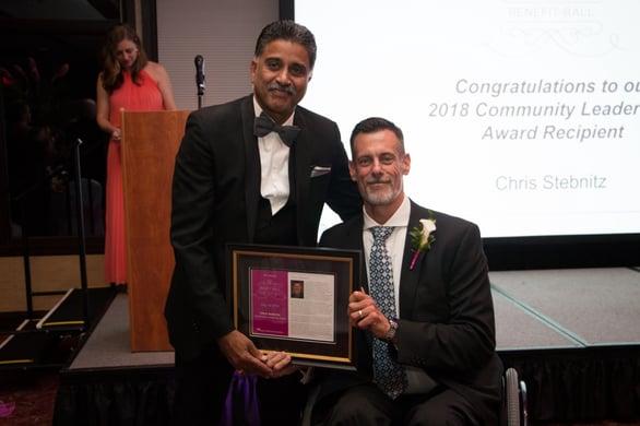 Chris Stebnitz Receives 2018 Community Leadership Award