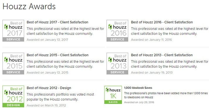 "Stebnitz Builders Does It Again: ""Best of Houzz"" Customer Service 3 Years in a Row!"