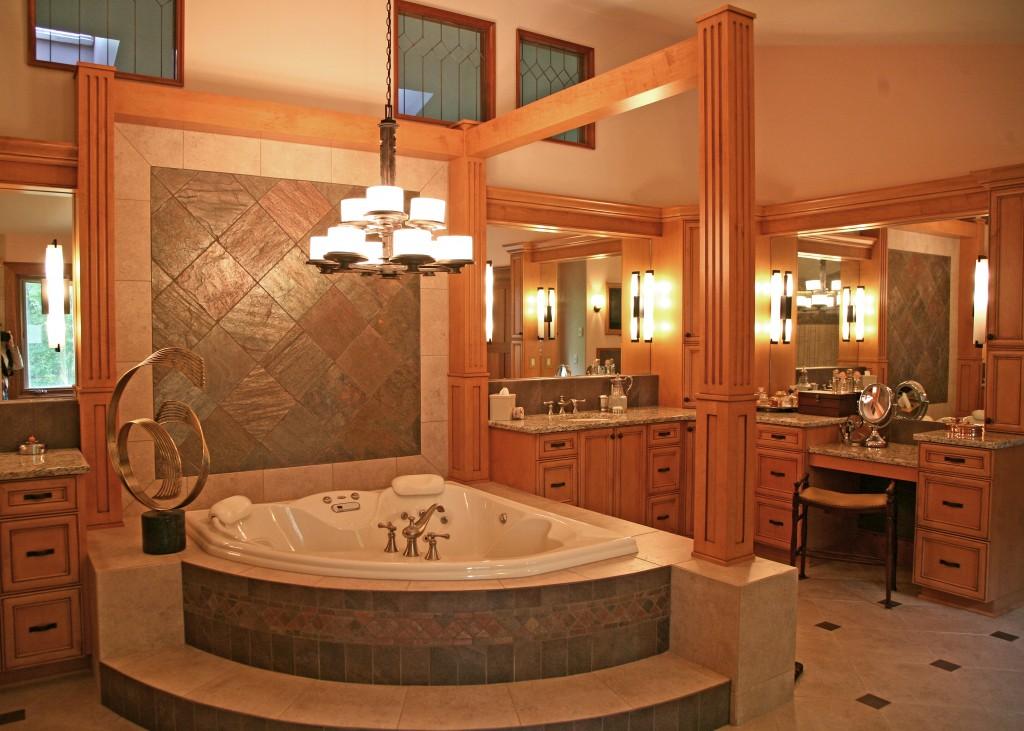 Delavan Lake Whole House Remodel, Delavan, WI, Master Bath Suite