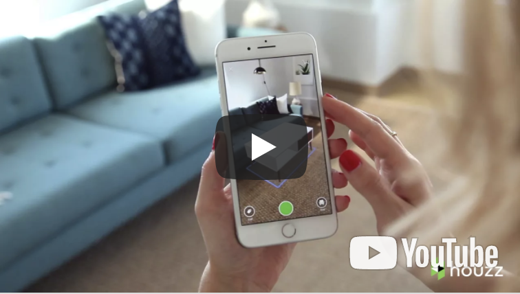 New 3D ARKit App from Houzz.com brings 500,000 Objects to Moveable Life