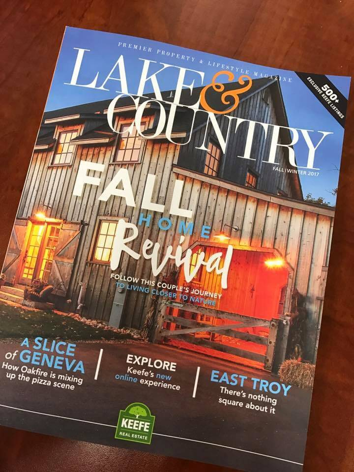 Featured Article in the Lake & Country Magazine - The Art of Listening