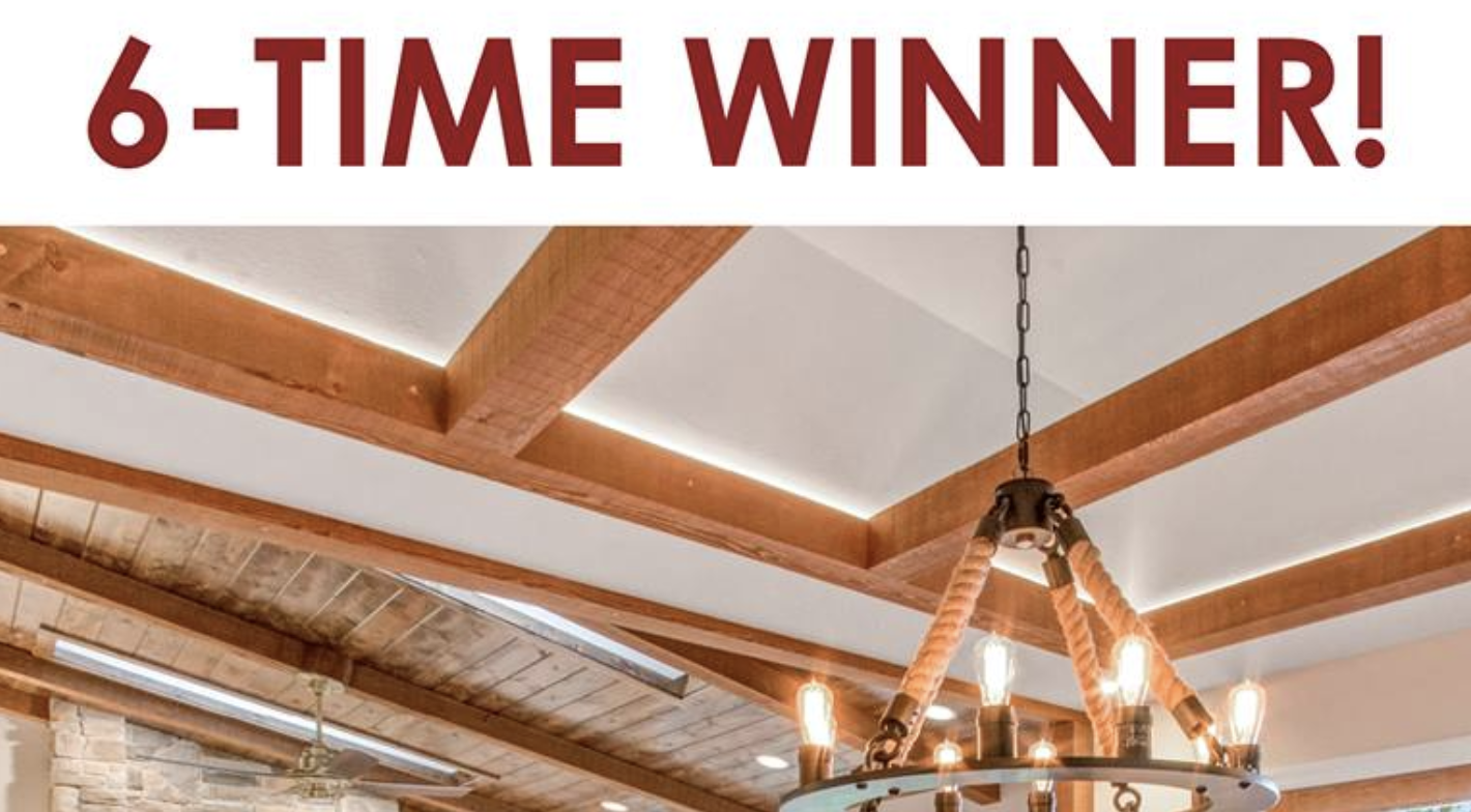 6-Time Winner For the Walworth County's Best Home Remodeler!